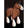 FarmVille Clydesdale Horse