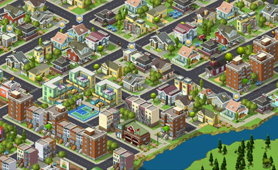 cityville facebook game shot
