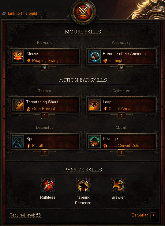 Barbarian Farming Build