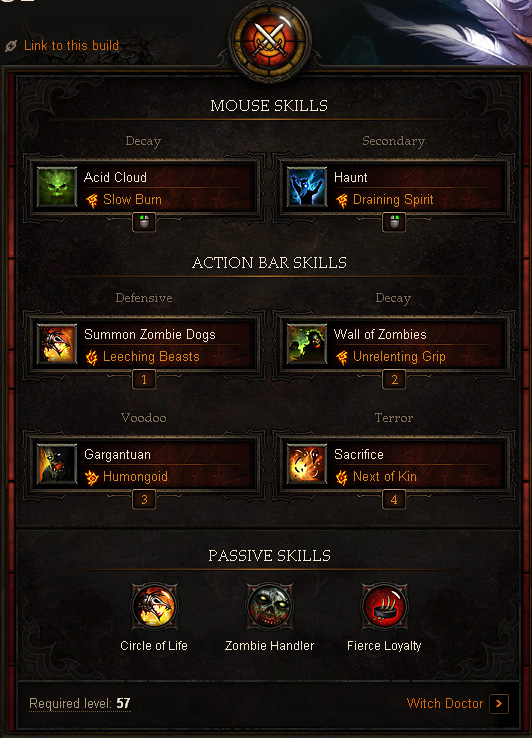 Witch Doctor Farming Build